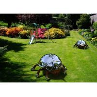 Quality Large Metal Animal Stainless Steel Insect Sculpture for Garden for sale