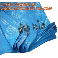 Quality 60gsm, 120gsm, 160gsm, 220gsm, 260gsm LDPE Laminated High Density Polyethylene HDPE PE Tarpaulin,1000d pvc coated terpal for sale