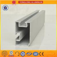 China 6m Length Aluminium Industrial Profile For Sliding Window With Built - In Blinds on sale
