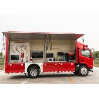 Quality Red Color Commercial Fire Trucks 3D Animation Simulate 119 Alarm Software for sale