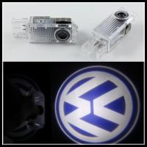 Quality LED welcome courtesy logo door lights lamps for VW Touareg Passat Phaeton for sale