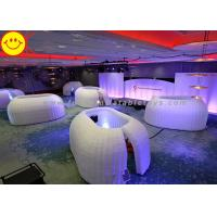 Quality Customized Inflatable Structure Inflatable Office Pod Tent Mini Lighting For Decoration for sale
