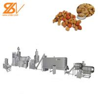 Quality Pet food  Processing Machine Extruder Dog Cat Food 1 Year Warranty for sale