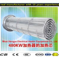 PT100 Thermostat Tubular Immersion Heaters With Temperature Sensor