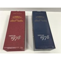 Buy cheap W010 Delicate Cardboard Wine Boxes , Wine Bottle Boxes With Cardboard Dividers from wholesalers