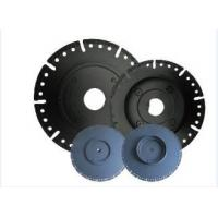 """Quality 7"""" Diamond Circular Saw Blade With Flange , Wet / Dry Cut Stone Cutting Saw Blades for sale"""