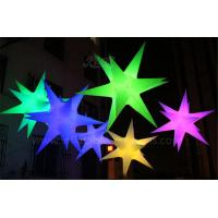 RGB Inflatable Lighting Balloon Hanging Decoartion Inflatable LED Star