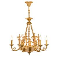 Quality Kichler brass chandelier Pendant Lamp For Hotel Project Lighting (WH-PC-28) for sale