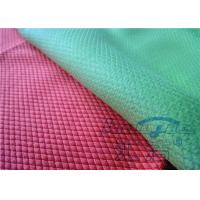 China Polyester Waffle Microfiber Glass Cleaning Cloth Super Clean For Window on sale