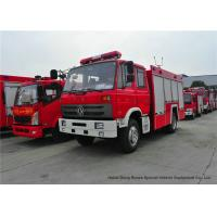 Quality Rescue Fire Truck With Fire Engine 5500Liters Water , Fire Brigade Vehicle for sale