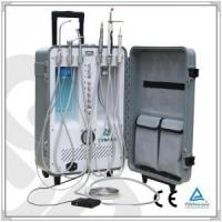 Quality Portable Dental Unit with led curing light and ultrasonic scaler for sale