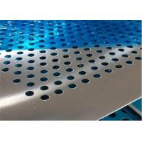 Quality Professional Design Perforated Metal Mesh Plate Stainless Steel Round Hole for sale