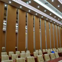 China Aluminum Sound Proof Acoustic Floor to Ceiling Movable Partition Walls on sale