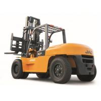 Quality Large Capacity Counterbalance Forklifts , 10 Ton JAC Forklift China  , Heavy Machinery Forklift , Diesel Forklift for sale