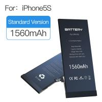 Quality 3.82v-4.35v 1560mAh Apple Iphone 5s Battery 100% New Replacement Zero Cycle for sale