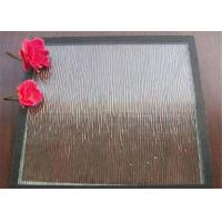 Quality Clear Bronze Mistlite Patterned Glass Sheets , Textured Patterned Glass For Decoration for sale