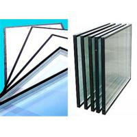 Quality Flat Shape Low Emissivity Glass , 4mm - 12mm Thickness Low E Tinted Glass for sale