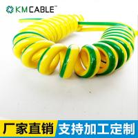 Quality Spiral Flexible Cable Curly Cord Fine Copper Wire DC1000V Oil Resistant for sale