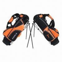 China Golf Bags/Junior Golf Stand Bags, Made of Nylon Material on sale