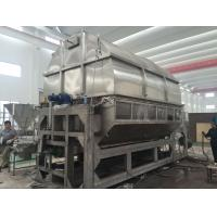 Quality Carbon Steel Double Drum Hot Air Dryer Machine PLC Control Steam Thermal Oil Heating Medium for sale