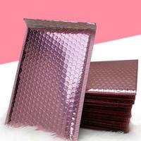 China Shiny MetallicBubbleMailers , Aluminium Foil Holographic BubbleMailers on sale