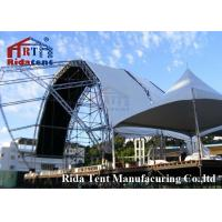 Quality Lightweight Aluminum Truss System , Mental Triangle Ladder Truss For Church for sale