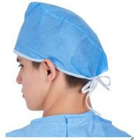 Buy cheap disposable surgical cap medical cap for hospital use non woven from wholesalers