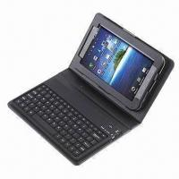 Quality Black Bluetooth Keyboard PU Leather Case for Samsung Galaxy 6200 7.0 for sale