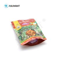 Quality Stand Up Food Packaging Bags Reusable Laminated Plastic Zipper Lock Gravure Printing for sale