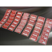 Quality transparent roll adhesive label for packaging for sale