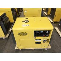 220 Volt 22A Sound Proof Diesel Generator With Single Cylinder Four Stroke Engine
