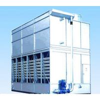 Quality Professional Evaporative Condenser Refrigeration Air Conditioning System , 4-7.5kw Axial Fan Power for sale