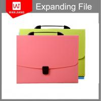 Quality wholesale office supplies A4 FC document holder PP expanding file folder with lock for sale