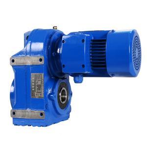 Quality 4.0kW F57/F67/F77 Ratio 21.17/27.41/45.58 ac 230v gear motor for sale