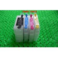 China 15ML Empty Refillable Printer Ink Cartridges T0761 to T0764 with Permanent Chips on sale