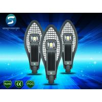 China High Brightness Street LED Lights 50W , High Rate LED Street Light Replacement wholesale