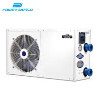 Quality 3.9KW cheap custom portable wifi air source air water small swimming pool heater heat pumps system for swimming pool for sale