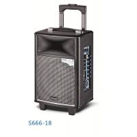 Wireless Bluetooth Rechargeable Trolley Speaker System / Active Outdoor Speakers