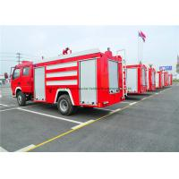Quality Emergency Rescue Fire Fighting Truck With Fire Pump 4000Liters Water Tank for sale