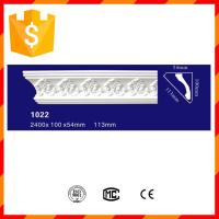 Easily installation crown PU ceiling moulding for hotel decoration