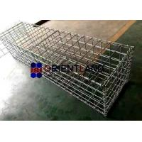 China Small Galvanized Welded Gabion Baskets Gabion Wall Fence 4.0mm 5.0mm Wire Gauge on sale