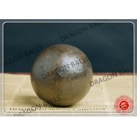 Quality 40mm 60Mn Hot Rolling Steel Balls , Round Steel Grinding Balls For Mining for sale