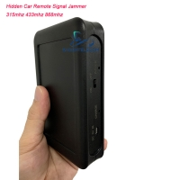 Quality Mini Pocket Car Remote Signal Jammer Shield 315mhz 433mhz 868mhz 915mhz 0.3kg for sale