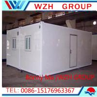 China modular container homes and steel frame house on sale