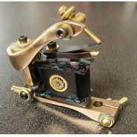 Quality attractive professional bronze novelty liner cutting handmade tattoo machine for sale