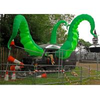Large Inflatable Tentacle Green Flame Retardant For Roof Decoration