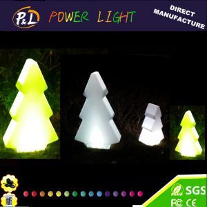 China Christmas Decoration Plastic Color Changing Illumianted LED Christmas Tree on sale