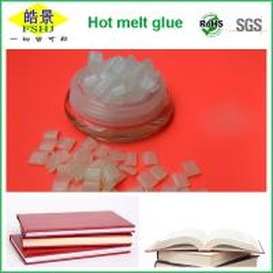 Hot Melt Adhesive Glue For Perfect Binding , EVA Hot Melt Glue Book Binding Adhesive