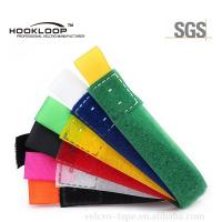 Quality 25*200mm Colors  Hook And Loop Cable Ties with Color Labor for sale