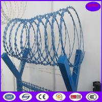 Quality Army protection wall cbt-65 concertina razor wire for sale